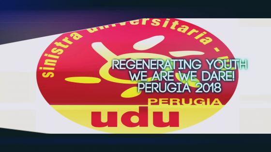 Youth in Umbria, Towards 2018 - UDU Perugia