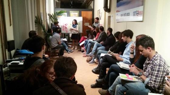 Working on the programme Perugia European Youth Capital
