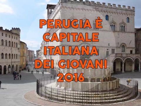 Perugia Capitale Italiana Giovani 2016